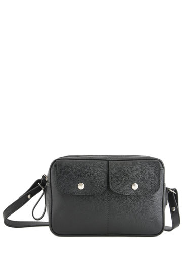 Longchamp Le foulonné Messenger bag Black