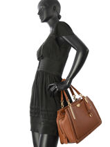 Tote Bag Dreamer 36 Leather Coach Brown dreamer 31640-vue-porte