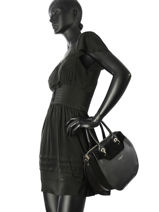 Top Handle Vendome Lune Lancaster Black vendome lune 432-13-vue-porte