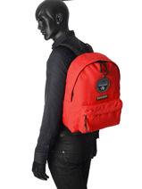 Backpack 1 Compartment Napapijri Black geographic NOYGOS-vue-porte