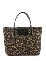 Shopping Bag A4 Maya Leopard Lancaster Brown maya leopard 517-55