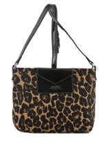 Crossbody Bag Maya Leopard Lancaster Brown maya leopard 517-54