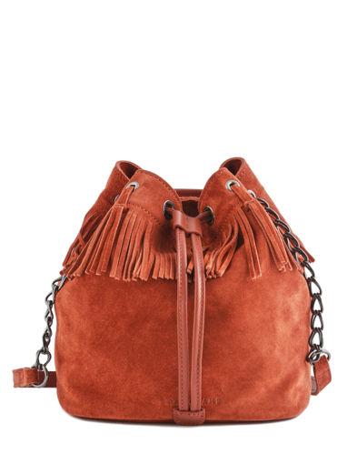 Longchamp Paris Rocks Velours Messenger bag Brown