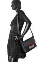 Shoulder Bag Maya Lancaster Black maya 517-26-vue-porte