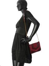 Crossbody Bag Vintage Leather Nat et nin Black vintage CAPRI-vue-porte