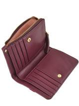 Wallet Leather Nat et nin Black vintage ROSIE-vue-porte