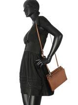 Shoulder Bag  Leather Milano Brown CA180604-vue-porte