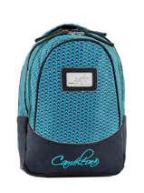 Backpack For Kids 2 Compartments Cameleon Blue retro RET-PRI