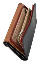 Continental Wallet Leather Lancaster Black constance 137-04-vue-porte