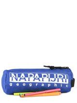 Trousse 1 Compartiment Napapijri Noir geographic NOYIOI-vue-porte