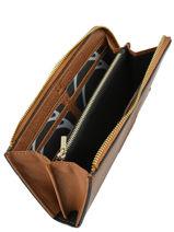 Wallet Leather Etrier Brown paris EPAR95B-vue-porte
