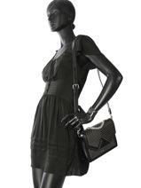 Shoulder Bag Klassic Quilted Leather Karl lagerfeld Black klassic quilted 86KW3020-vue-porte