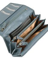 Wallet Leather Crinkles Black 14049-vue-porte