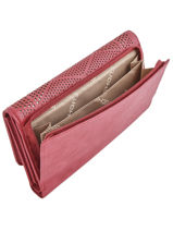 Continental Wallet Fuchsia Red hedley F9763-5-vue-porte