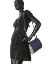 Shoulder Bag Camelia Woomen Blue camelia WCAME03-vue-porte