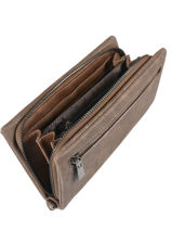 Wallet Miniprix Brown classic 520-vue-porte