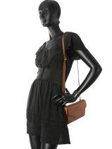Shoulder Bag Hortensia Woomen Brown hortensia WHORT08-vue-porte