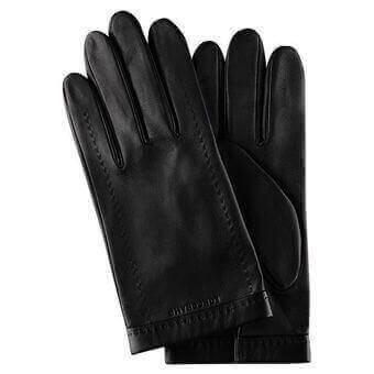 Longchamp Gants homme Gloves Black