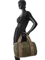 Shoulder Bag A4 Gallantry Green G269-vue-porte