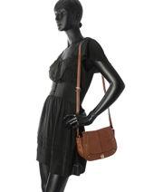 Shoulder Bag Be Velvet Miniprix Brown be velvet BV18225-vue-porte