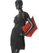 Large Nylon Tote Bag Chadwick Lauren ralph lauren Red chadwick 31687516-vue-porte