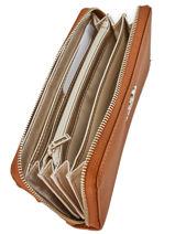 Wallet Guess Brown digital VG685346-vue-porte