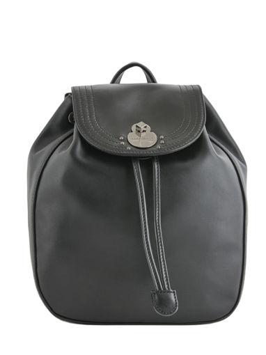 Longchamp Alezane Sac à dos Noir