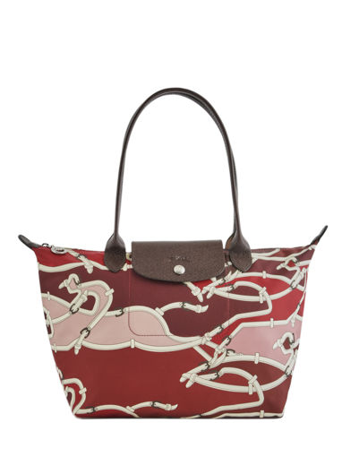 Longchamp Le pliage galop Hobo bag Red