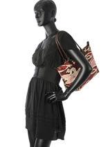 Longchamp Le pliage galop Hobo bag Red-vue-porte