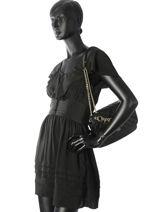 Shoulder Bag Victoria Guess Black victoria VG710721-vue-porte