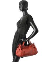 Shopper Gd Leather Gerard darel Red gd DGS07410-vue-porte