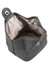 Leather Purse Hexagona Brown confort 467387-vue-porte