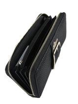 Wallet Guess Black caroline BS709546-vue-porte