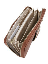 Wallet Guess Brown caroline VG709546-vue-porte