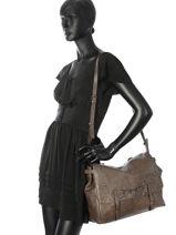 Crossbody Bag Lou Le temps des cerises Black lou LTC5C42-vue-porte