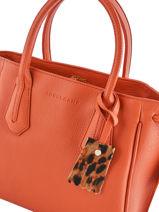 Longchamp Pénélope Bijoux Orange-vue-porte