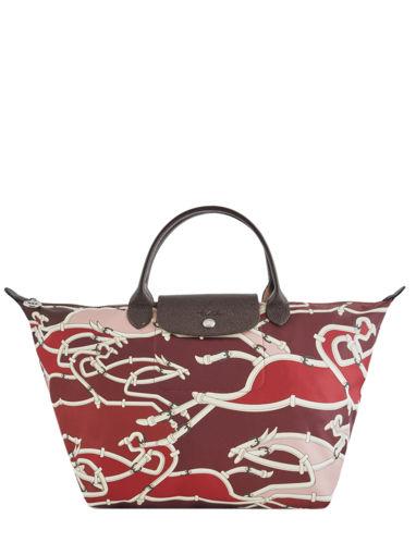 Longchamp Le pliage galop Handbag Red