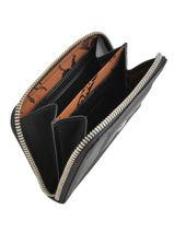 Longchamp Porte-monnaie Noir-vue-porte