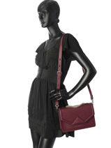 Shoulder Bag Klassik Leather Karl lagerfeld Red klassik 86KW3002-vue-porte