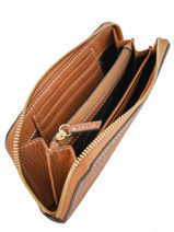 Wallet Leather Mac douglas Brown romy GOLROM-U-vue-porte