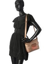 Shoulder Bag Maya Lancaster Gold maya 517-26-vue-porte