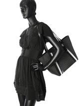 Shoulder Bag Withney Leather Michael kors Black withney F8SN1T7B-vue-porte
