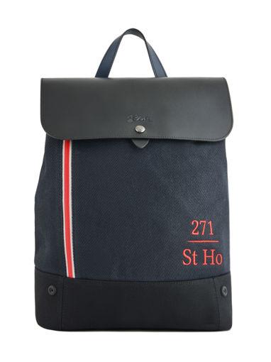 Longchamp 271 st ho toile Sacs à dos Bleu