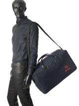 Longchamp 271 st ho toile Sacs de voyage Bleu-vue-porte