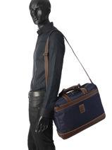 Longchamp Boxford Serviette Marron-vue-porte