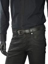 Longchamp Le foulonné Ceinture Noir-vue-porte