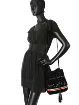 Crossbody Bag Arty Gerard darel Black arty DGS62462-vue-porte
