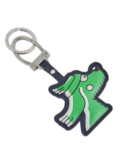Longchamp Le pliage illustration Porte clés Vert