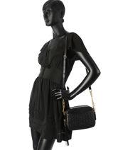 Shoulder Bag Camera Bag Leather Coach Black camera bag 39184-vue-porte