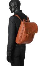 Backpack Basilic pepper Black urban BURB07-vue-porte